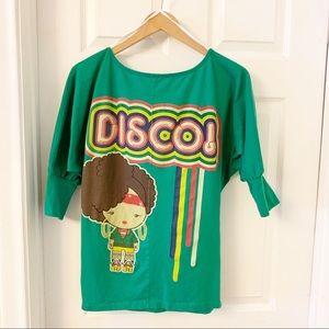 Harajuku Lovers | Rare Disco T-Shirt | Small